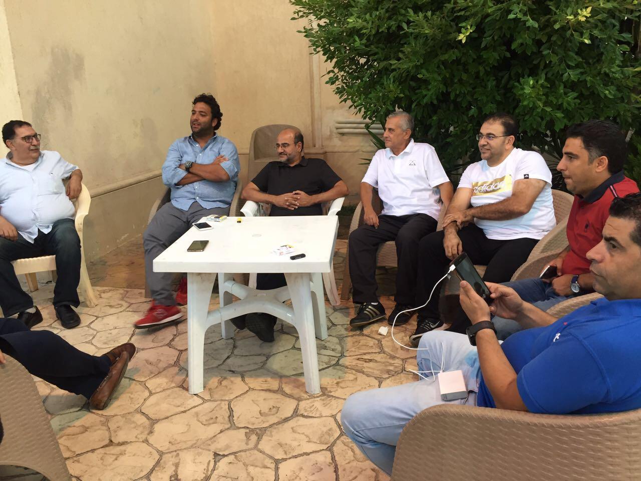 ميدو مع عامر حسين