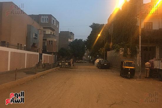 شوارع وأزقة قرية البربا فى طريق محرر اليوم السابع لمنزل الضحية
