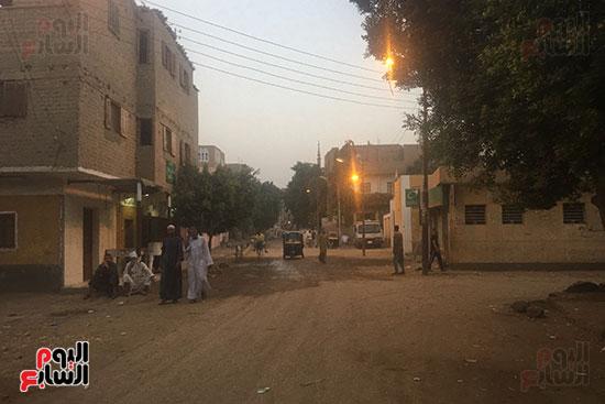 شوارع قرية البربا مسقط رأس الطفلة المذبوحة