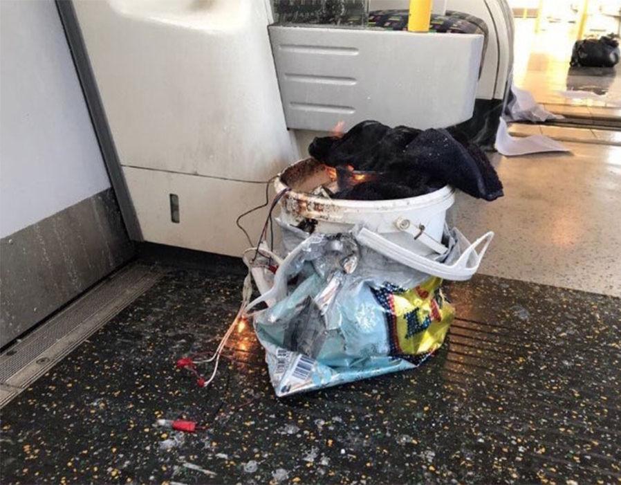 عبوة ناسفة تنفجر فى مترو أنفاق بلندن