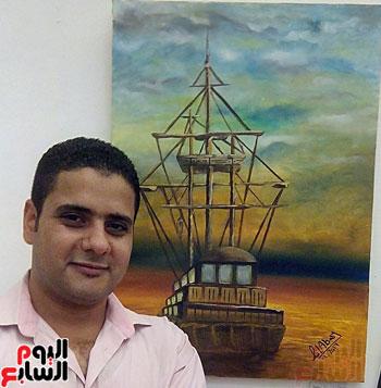 الفنان-التشكيلى-أحمد-العباسى--(1)