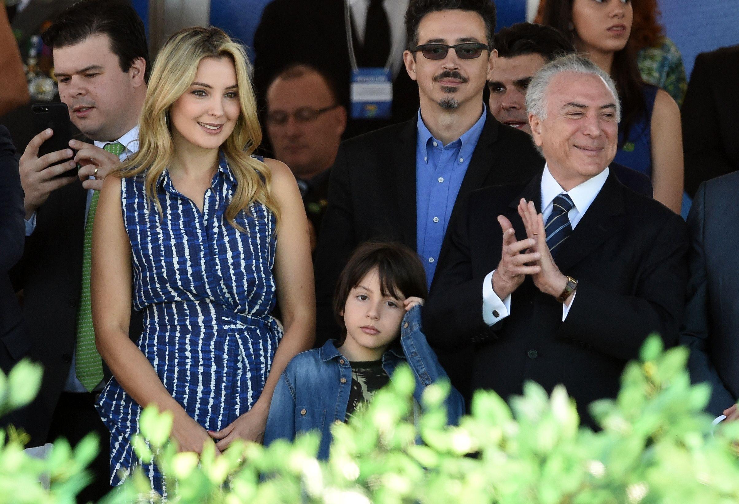 سيدة البرازيل الأولى مارسيلا تامر