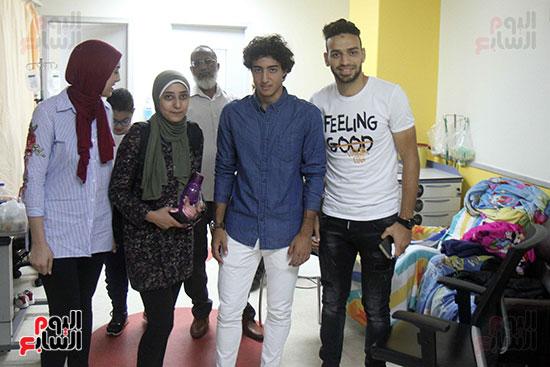 زيارة الاهلى لمستشفى 57 (28)