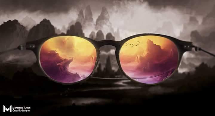 تصميم نظارة