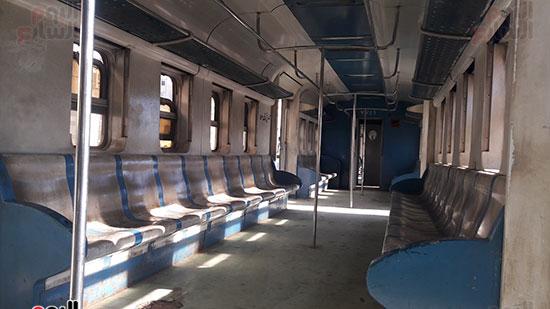 ازدحام القطار بسبب انخفاض سعر التذكرة