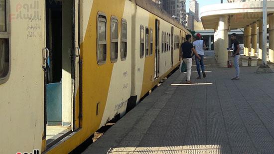 احدى عربات قطار ابو قير