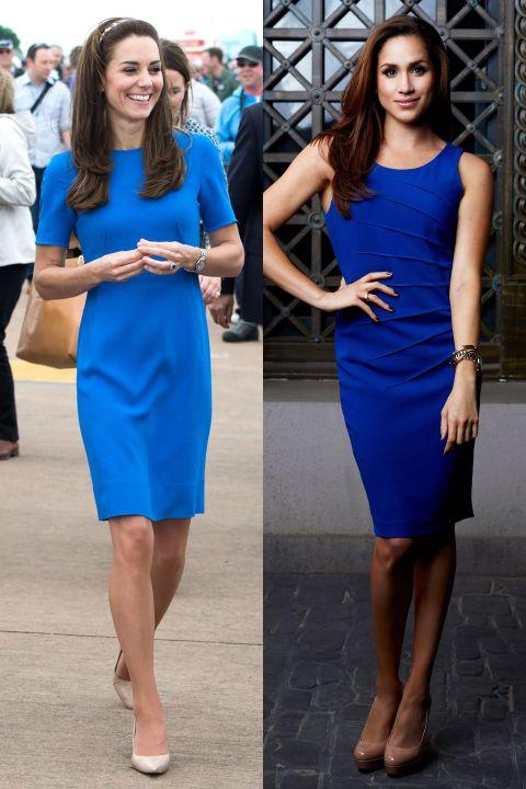 الفستان الأزرق