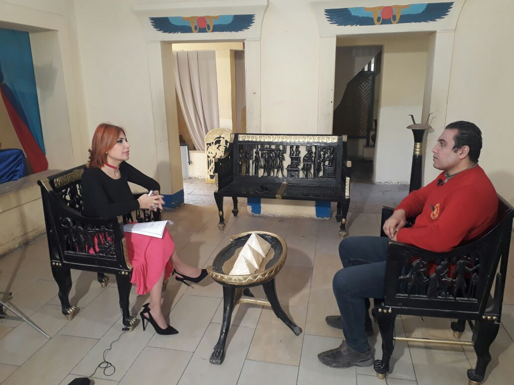 برنامج قصة مكان ولقاء مع المرشد السياحي هاني الجوهري