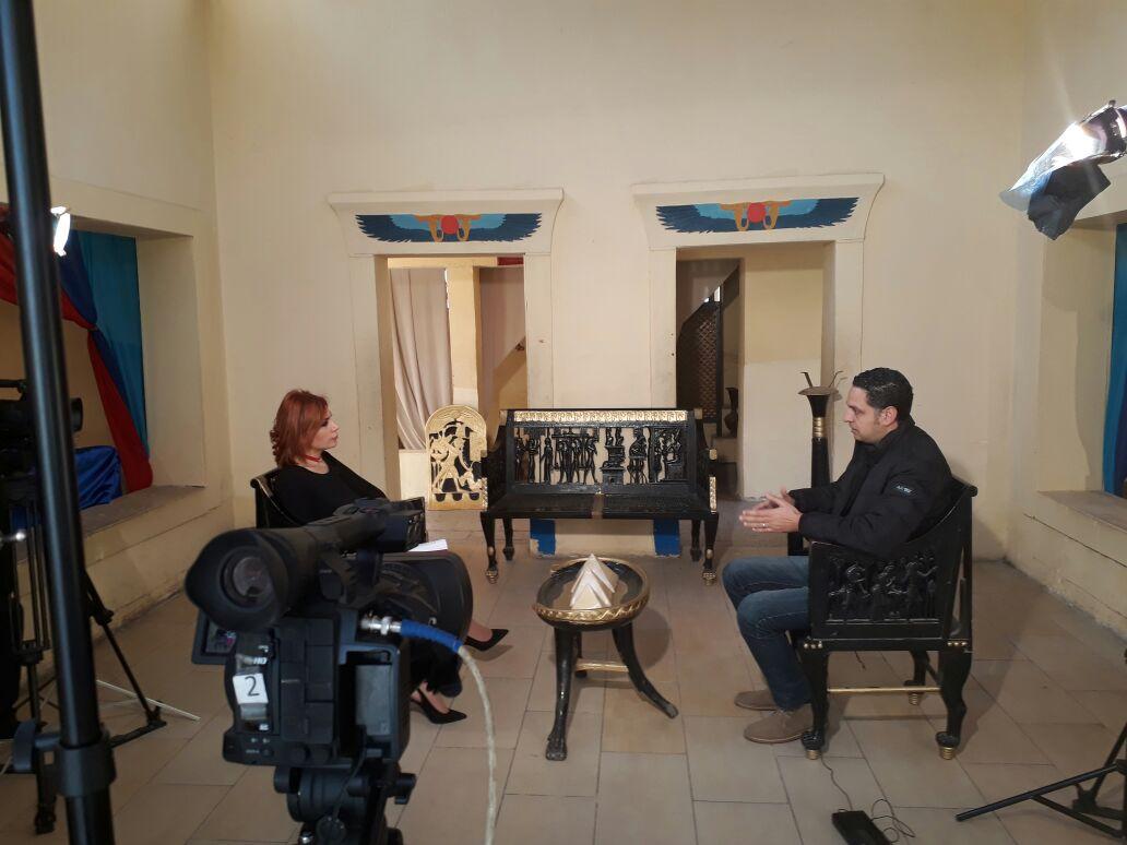 وائل سمير مدير القرية الفرعونية يتحدث لبرنامج قصة مكان