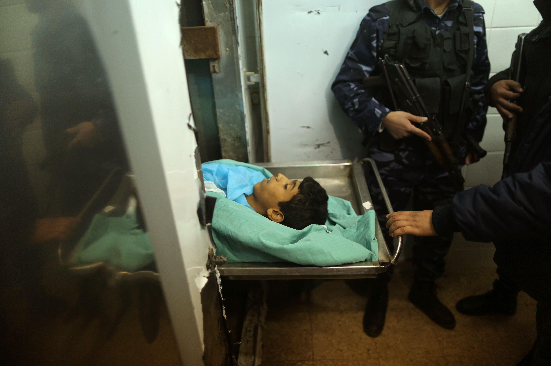 جثمان الشهيد الفلسطيني