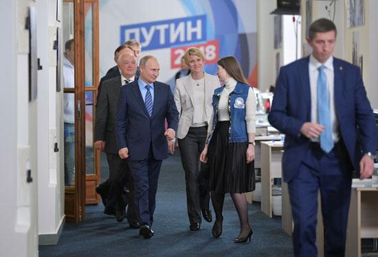 زيارة بوتين للحملة