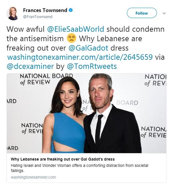تغريدة فرانسيس تاونسند