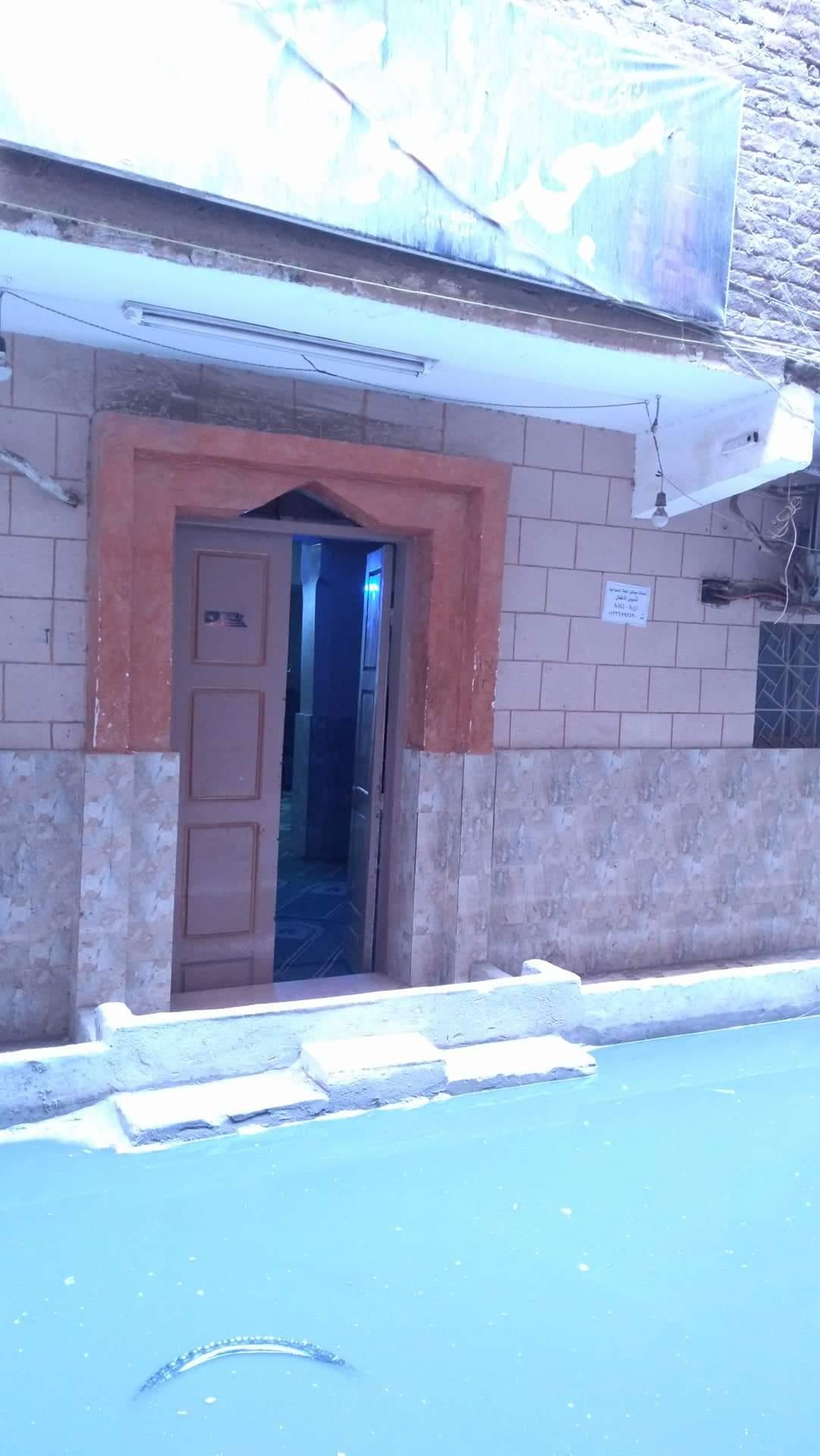 غرق مساجد عزبه علام بالصرف الصحي