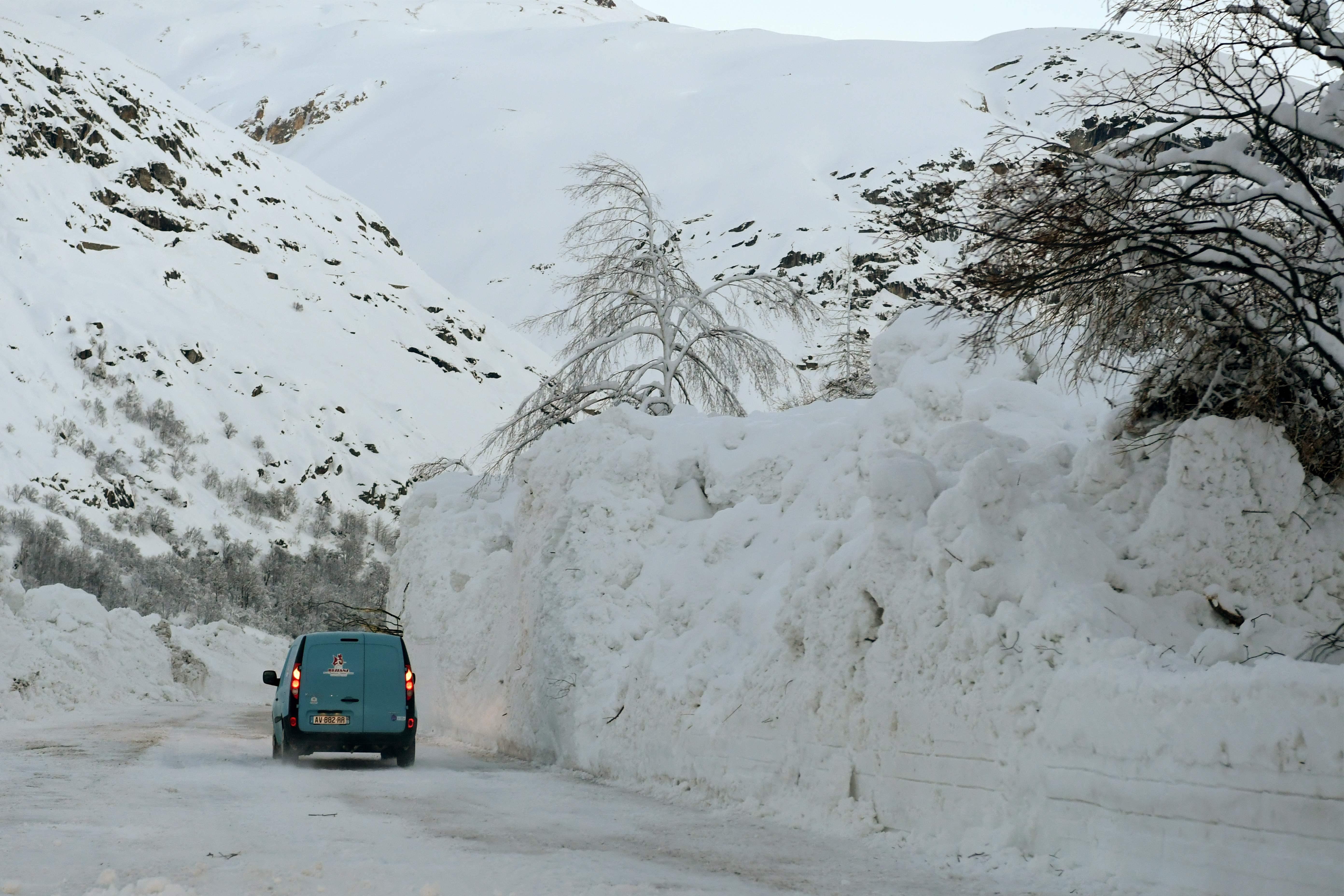 الثلوج فى فرناس