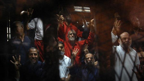 قيادات الإخوان فى السجن