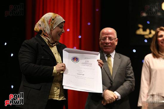 وزير الثقافة يكرم الفائزين بجائزة إحسان عبد القدوس (3)