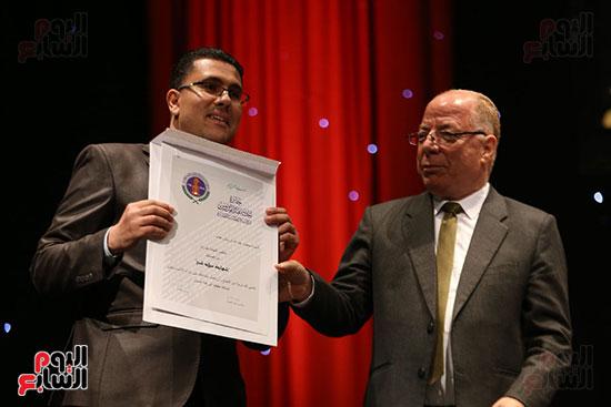وزير الثقافة يكرم الفائزين بجائزة إحسان عبد القدوس (2)