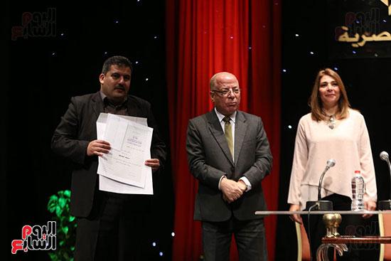 وزير الثقافة يكرم الفائزين بجائزة إحسان عبد القدوس (8)