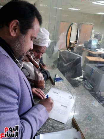 توقيع التوكيلات بمحافظات مصر