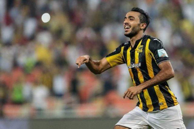 محمود كهربا لاعب الاتحاد السعودى