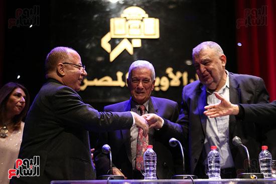 وزير الثقافة يكرم الفائزين بجائزة إحسان عبد القدوس (16)