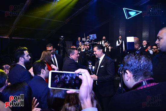راغب علامة يحيى احتفالية مدينة الإنتاج الإعلامى بحضور النجوم والمشاهير (9)