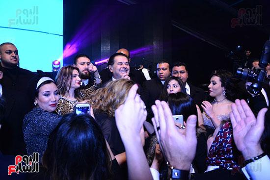راغب علامة يحيى احتفالية مدينة الإنتاج الإعلامى بحضور النجوم والمشاهير (12)
