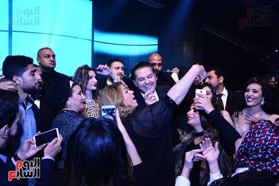 راغب علامة يحيى احتفالية مدينة الإنتاج الإعلامى بحضور النجوم والمشاهير (13)