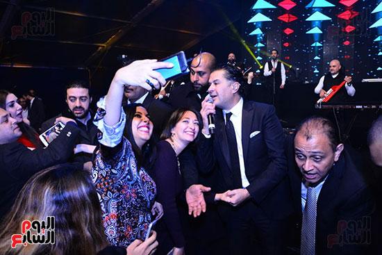 راغب علامة يحيى احتفالية مدينة الإنتاج الإعلامى بحضور النجوم والمشاهير (7)