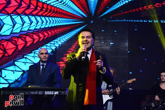 راغب علامة يحيى احتفالية مدينة الإنتاج الإعلامى بحضور النجوم والمشاهير (37)