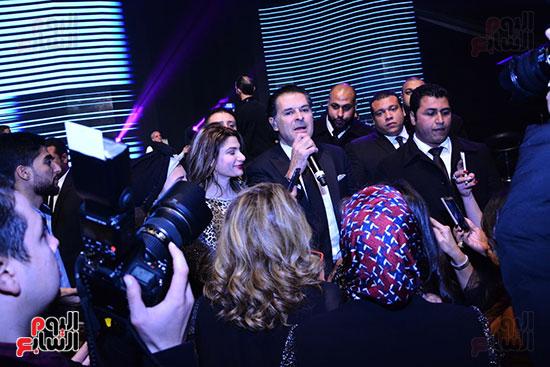 راغب علامة يحيى احتفالية مدينة الإنتاج الإعلامى بحضور النجوم والمشاهير (17)