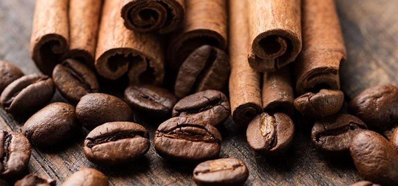 القرفة والقهوة