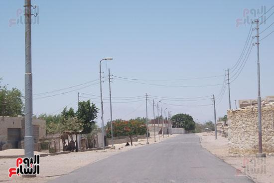 شارع قرية الوادى الرئيسى