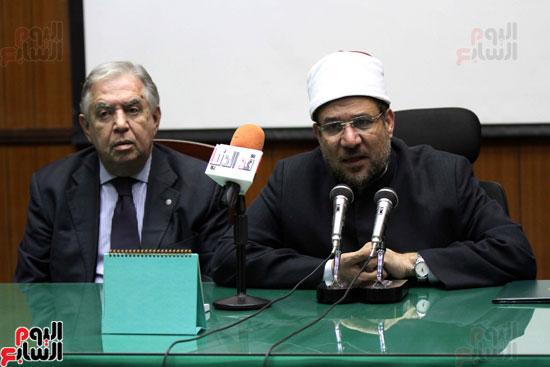 ه فعاليات توقيع بروتوكول بين وزارة الأوقاف والمعهد العالى للدراسات الإسلامية (8)