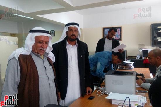 قبائل جنوب سيناء تعلن دعم الرئيس السيسى للترشح بالانتخابات