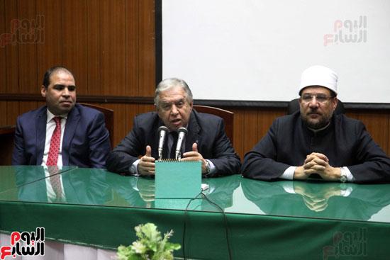 ه فعاليات توقيع بروتوكول بين وزارة الأوقاف والمعهد العالى للدراسات الإسلامية (16)