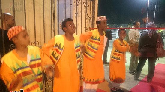 محافظ أسوان خلال افتتاح المهرجان (4)