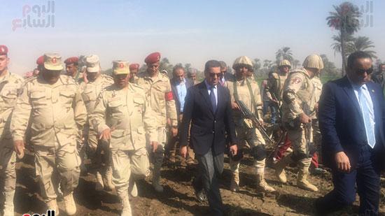 اللواء كامل الوزير رئيس الهيئة الهندسية للقوات المسلحة  (13)