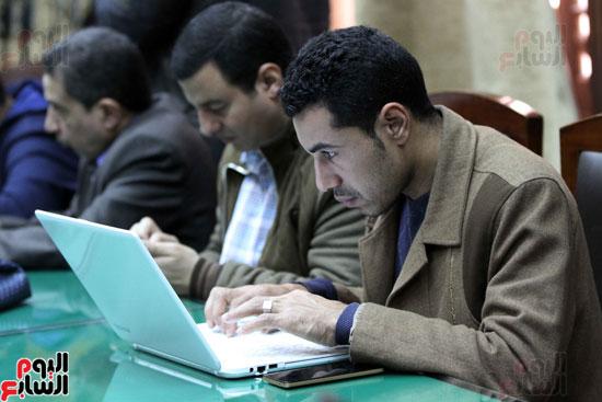 ه فعاليات توقيع بروتوكول بين وزارة الأوقاف والمعهد العالى للدراسات الإسلامية (12)