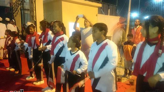 محافظ أسوان خلال افتتاح المهرجان (3)