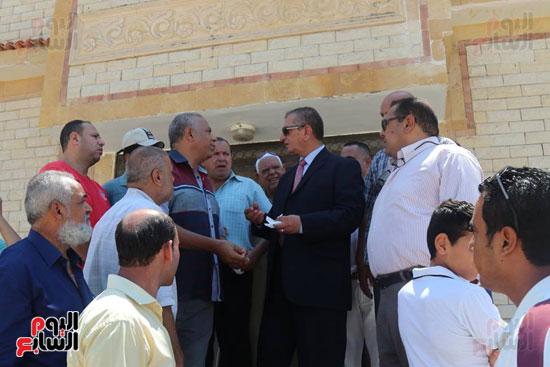 محافظ كفر الشيخ بتفقد قسم شرطة المسطحات المائية