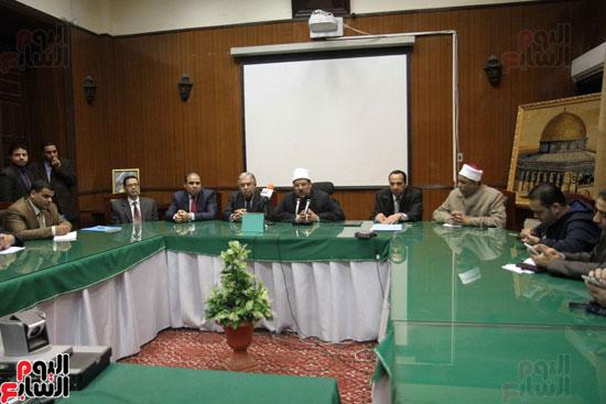 ه فعاليات توقيع بروتوكول بين وزارة الأوقاف والمعهد العالى للدراسات الإسلامية (4)