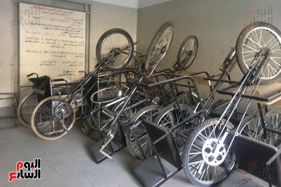 دراجات ثلاثية تم صناعتها