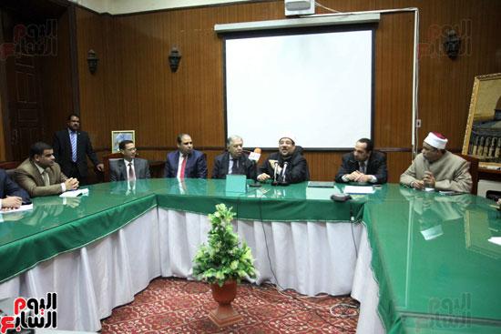 ه فعاليات توقيع بروتوكول بين وزارة الأوقاف والمعهد العالى للدراسات الإسلامية (15)