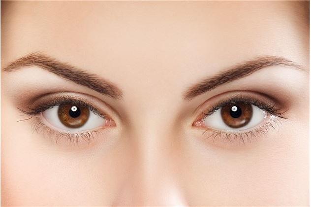 التركيز على العيون
