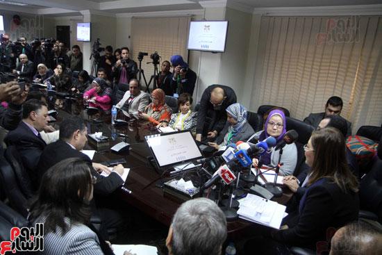 مؤتمر صحفى لوزيرة التخطيط والمتابعة والإصلاح الإدارى (5)