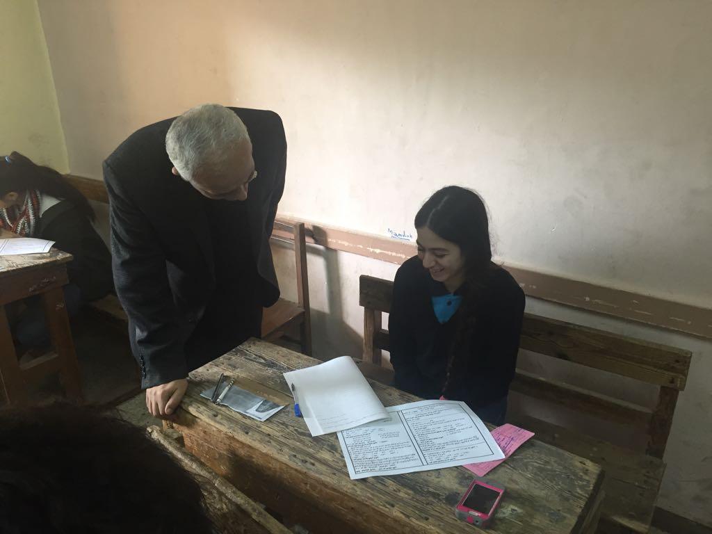 حجازي يتفقد سير امتحانات شهادة إتمام الدراسة بمرحلة التعليم الأساسي بالقاهرة (4)