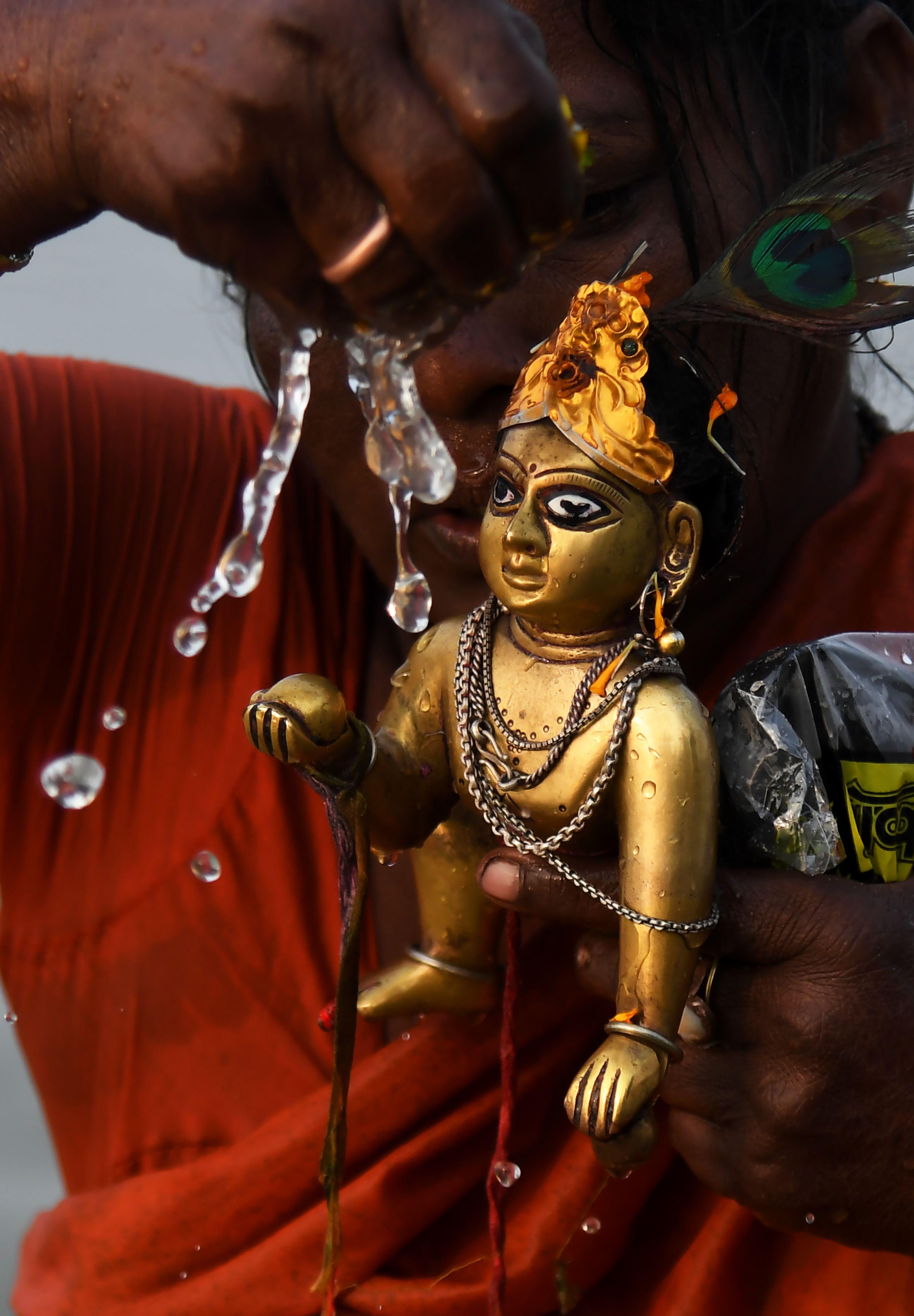 طقوس الهندوس خلال الاحتفالات