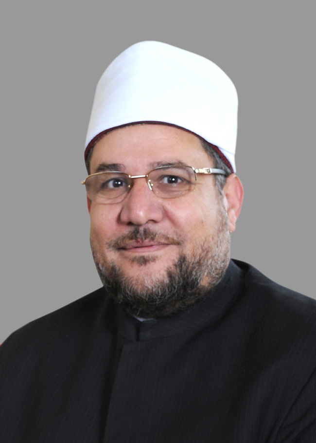 الدكتور مختار جمعة وزير الأوقاف