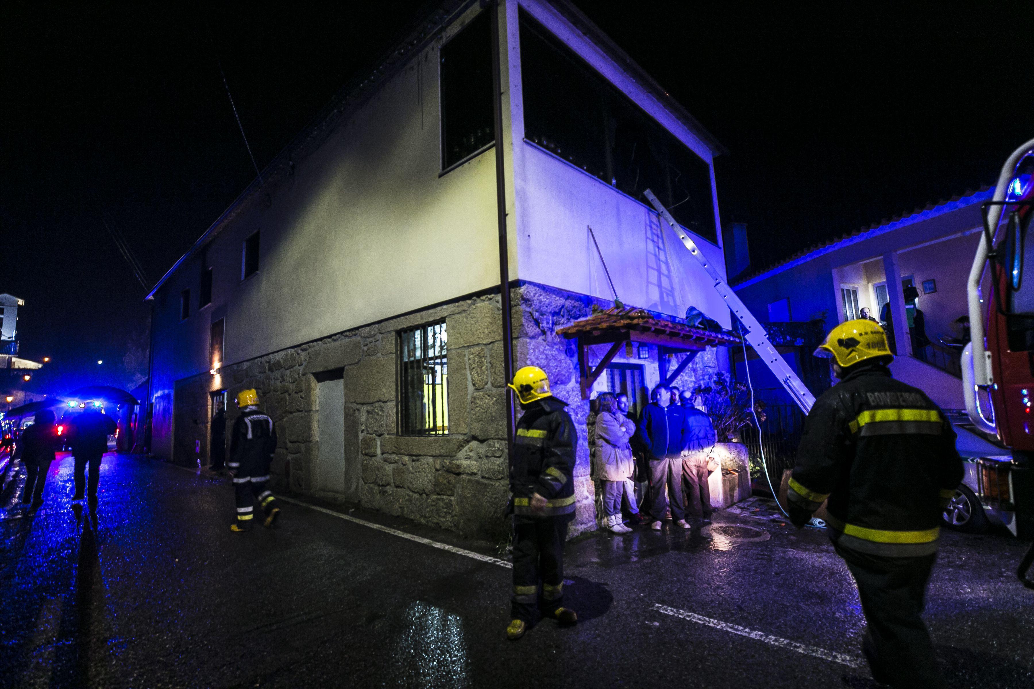 حريق فى البرتغال